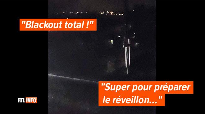 Des habitants privés d'électricité à quelques heures du Nouvel An près de Liège: la situation a été rétablie en 1h