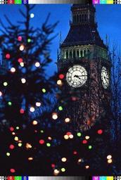 UK: Big Ben sonne les douze coups de minuit à Londres avant le feu d'artifice