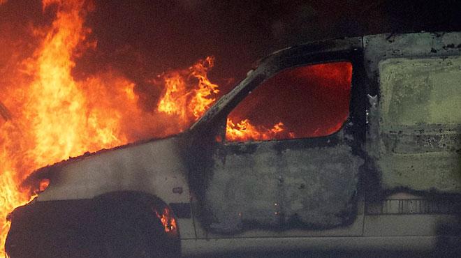Incendies criminels en cascade à Mouscron lors de la nuit de la Saint-Sylvestre