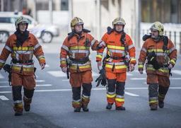 Nouvel An - Nuit chargée pour les pompiers du SIAMU Bruxelles-Capitale