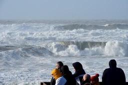 La tempête Carmen prive 40.000 foyers bretons d'électricité