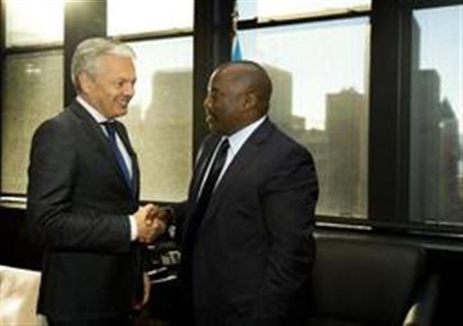 Crise politique en RDC - M. Reynders met en garde les auteurs de la répression brutale des manifestations