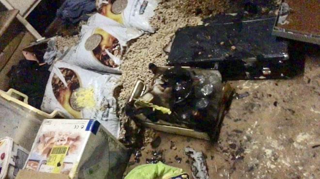 Un feu d'artifice pénètre dans une maison de Fleurus par le soupirail et atteint une réserve de combustible