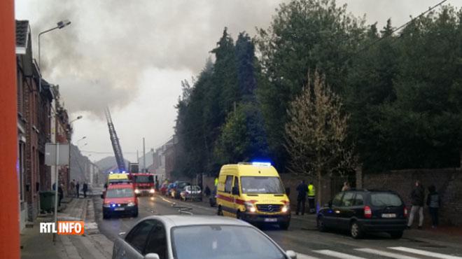 Un incendie s'est déclaré dans une habitation à Mons: les pompiers ont vite maîtrisé les flammes