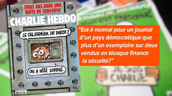 Le coup de gueule d'un responsable de Charlie Hebdo: