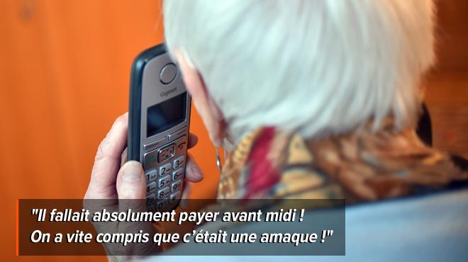 Odette, 93 ans, a failli être victime d'une arnaque téléphonique: des escrocs, se faisant passer pour bpost, lui réclamaient 380€