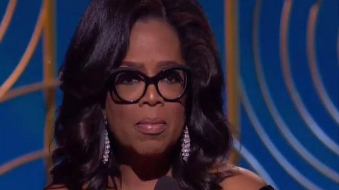 Comment Oprah Winfrey a BOULEVERSÉ tous les spectateurs des Golden Globes 2018 dans un discours très fort (vidéo)