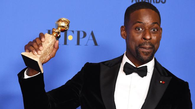 Sterling K. Brown (This is Us), premier Noir à remporter le trophée du meilleur acteur dans une série dramatique: