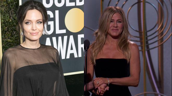 Angelina Jolie ignore Jennifer Aniston aux Golden Globes