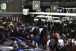 Salon de l'auto - Ouverture à la presse, le grand public attendu à partir de vendredi