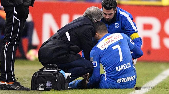 Le joueur de Genk Nikos Karelis victime d'une embolie pulmonaire: