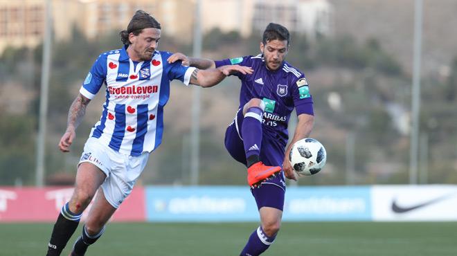 Anderlecht tenu en échec par Heerenveen