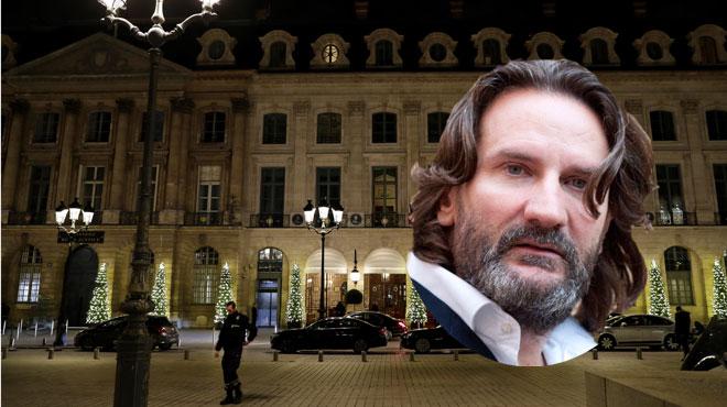 L'écrivain Frédéric Beigbeder a assisté au braquage du Ritz: