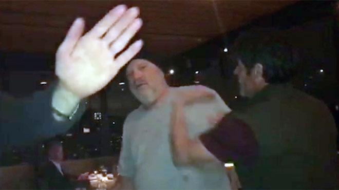 Harvey Weinstein giflé et insulté alors qu'il dînait dans un restaurant :