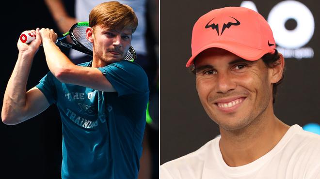 Rafael Nadal ne tarit pas d'éloges sur David Goffin