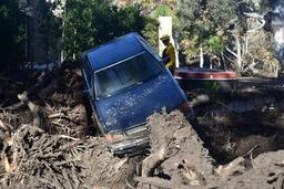 Coulées de boue en Californie: le bilan passe à 18 morts