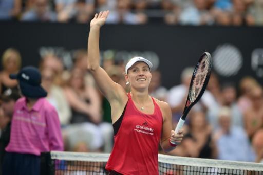Tennis: Kerber retrouve à Sydney le goût de la victoire