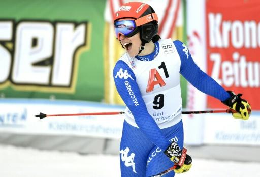 Ski: l'Italienne Brignone remporte le super G de Bad Kleinkirchheim