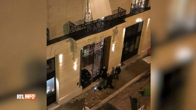 Trois malfrats se retrouvent bloqués dans le braquage du Ritz: un témoin a filmé la scène