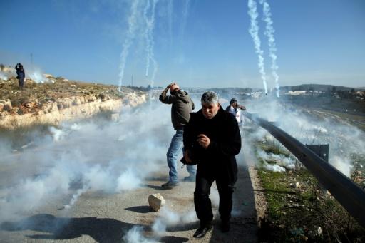 Manifestation de soutien à une adolescente palestinienne détenue par Israël