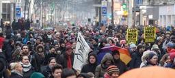 Autriche: manifestation contre la coalition droite/extrême droite