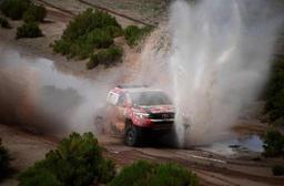 Dakar 2018 - Stéphane Peterhansel s'embourbe en Bolivie, Carlos Sainz nouveau leader