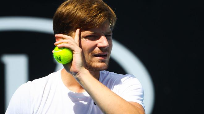Open d'Australie: Goffin connaît son adversaire au premier tour, du lourd pour Ruben Bemelmans