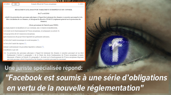 Une nouvelle loi européenne protègera mieux nos données personnelles: Facebook sera-t-il enfin responsable si une photo compromettante détruit une vie ?