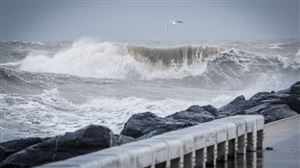 TEMPÊTE sur la Mer du Nord jeudi: toute la Belgique sera frappée par de fortes rafales