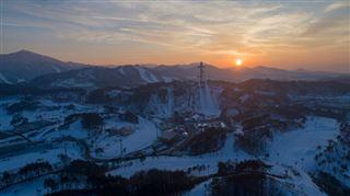 Une station de ski fantôme hante les JO de Pyeongchang- C'est complètement en ruines