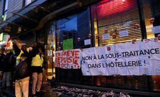 Holiday Inn de Clichy - trois mois de grève et plus rien à perdre