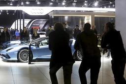 Salon de l'auto: plus de 420.000 visiteurs avant le dernier week-end