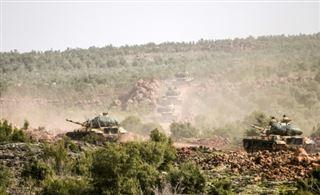 Offensive turque en Syrie- combats entre forces turques et kurdes
