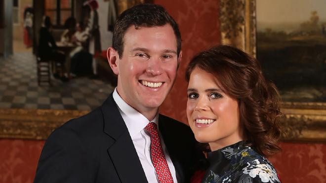 Découvrez la bague de fiançailles colorée et incroyable de la princesse Eugénie d'York (photos)