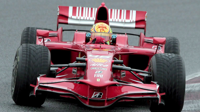Valentino Rossi et Michael Schumacher ont failli être... coéquipiers chez Ferrari