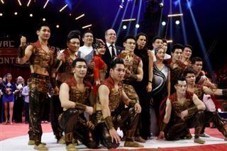 Des acrobates chinois et des jockeys germano-hongrois vainqueurs du festival du cirque
