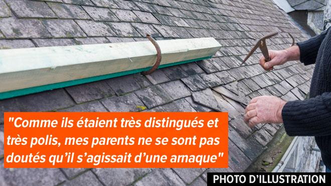 De faux réparateurs de toiture ont sévi à Colfontaine: un couple de personnes âgées dépouillé de 300 euros