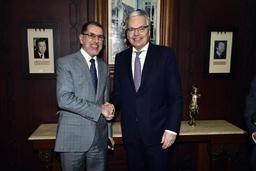 Reynders veut renforcer les relations bilatérales entre la Belgique et le Maroc
