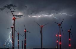L'Allemagne a érigé un nombre record d'éoliennes terrestres en 2017