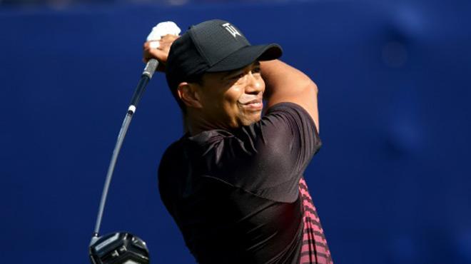 Tiger Woods passe son 1er test à Torrey Pines