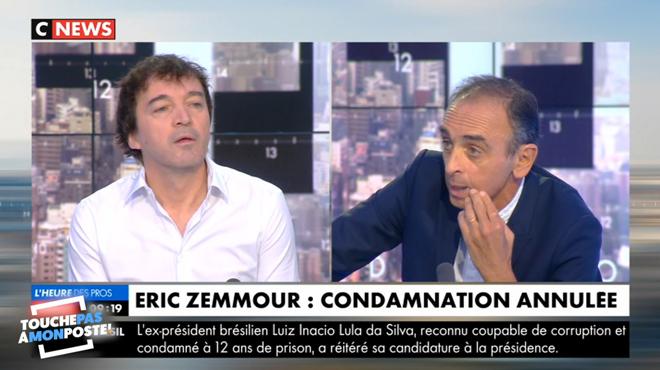 En COLÈRE contre Éric Zemmour, Cali quitte le plateau en plein direct