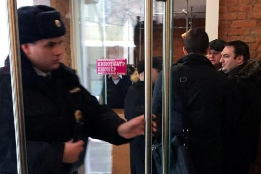 Russie : un cinéma annule les projections de
