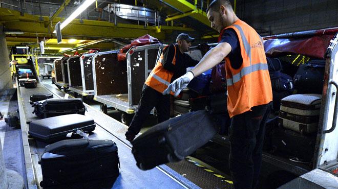 Arrêt de travail chez le bagagiste Aviapartner — Brussels Airport