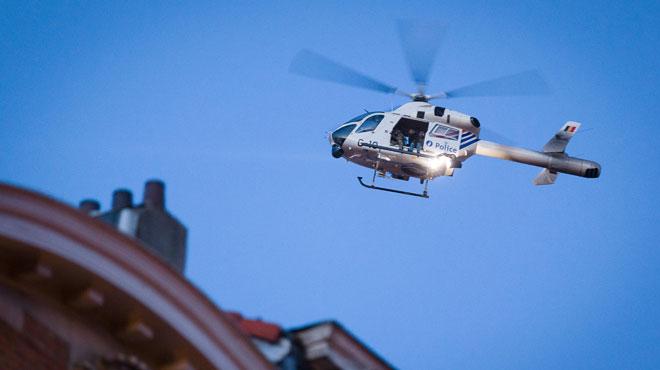 Un homme pointe un laser sur un hélicoptère de police: il devra comparaître devant le tribunal correctionnel