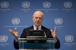 Conflit en Syrie - L'ONU va envoyer son émissaire Staffan de Mistura au congrès de paix en Russie