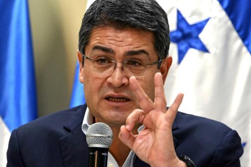 Le président hondurien Juan Orlando Hernandez investi