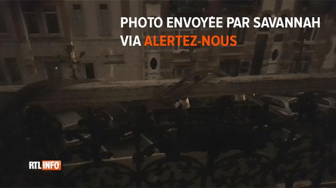 Des habitants de Schaerbeek touchés par une panne de courant ce samedi soir