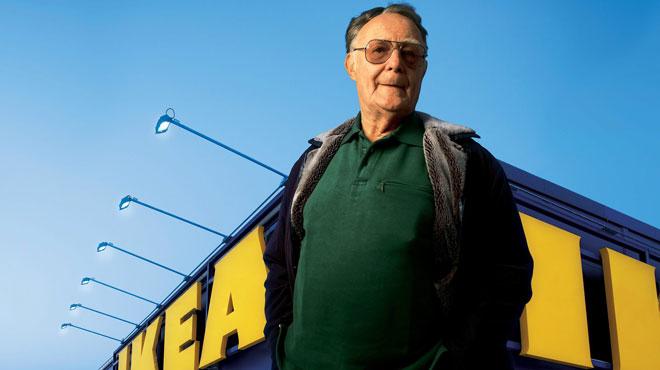 Ingvar Kamprad, fondateur d'IKEA, est mort à 91 ans