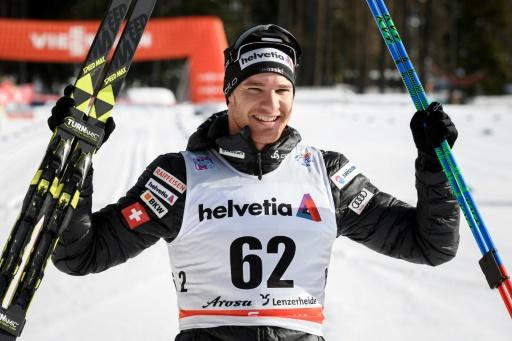 Ski de fond: Cologna gagne la mass-start de Seefeld avant les Jeux