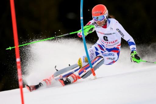 Ski: Vlhova s'impose à Lenzerheide en profitant d'une nouvelle sortie de Shiffrin